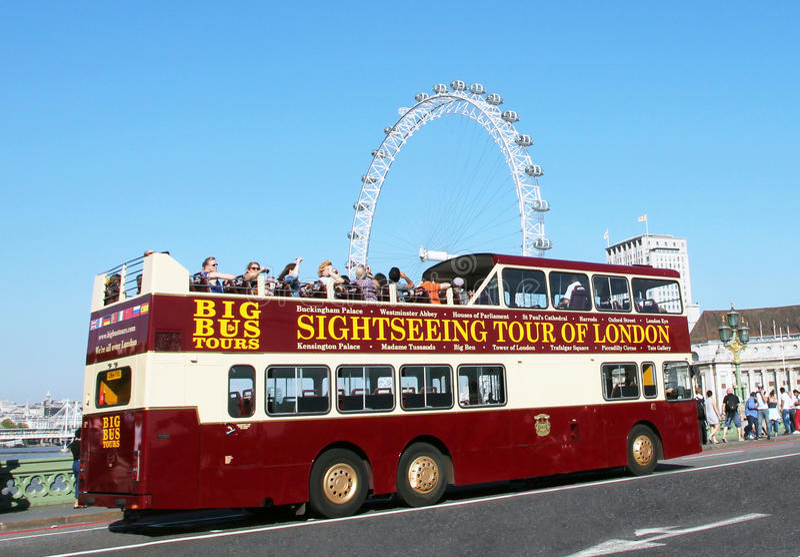 zwiedzająca London wycieczka turysyczna zdjęcie stock
