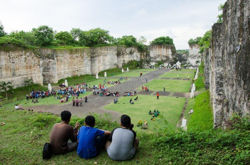 Zwiedzający w Bali, Indonezja Podróż zdjęcia royalty free
