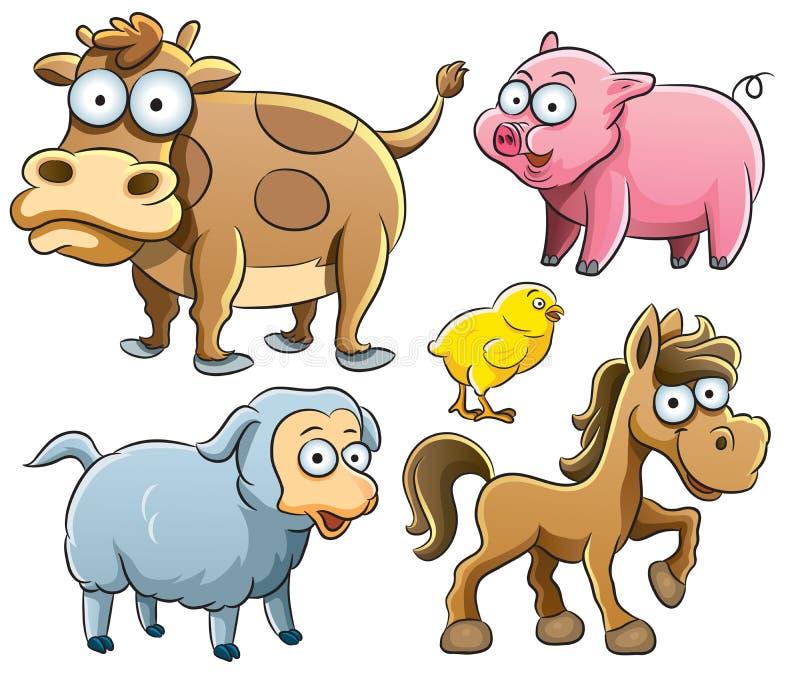 zwierząt dziecka kolekcja royalty ilustracja