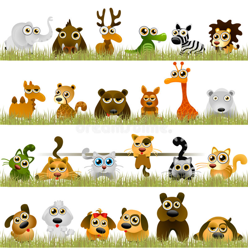 zwierzę kreskówka royalty ilustracja