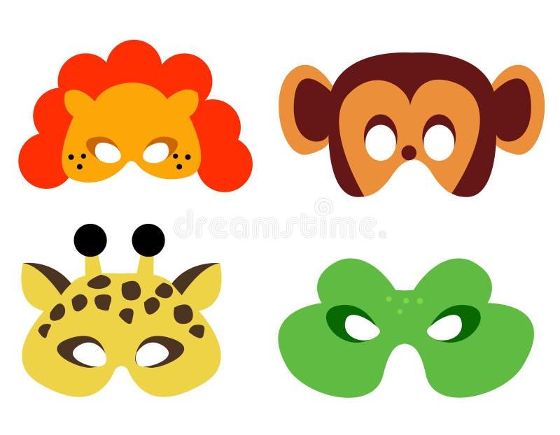 zwierzę maska royalty ilustracja