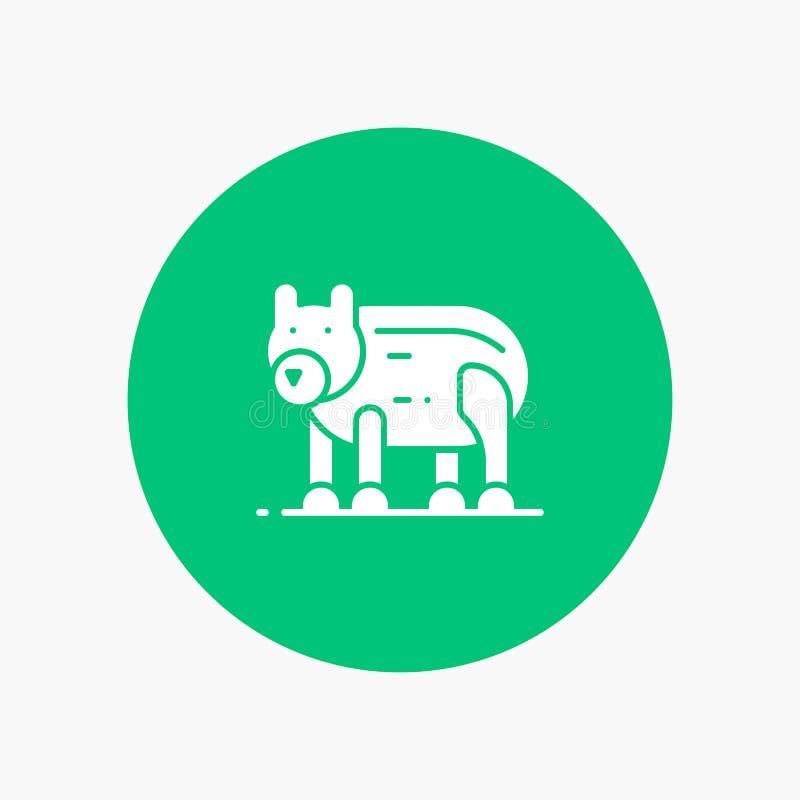 Zwierzę, niedźwiedź, Biegunowy, Kanada ilustracja wektor