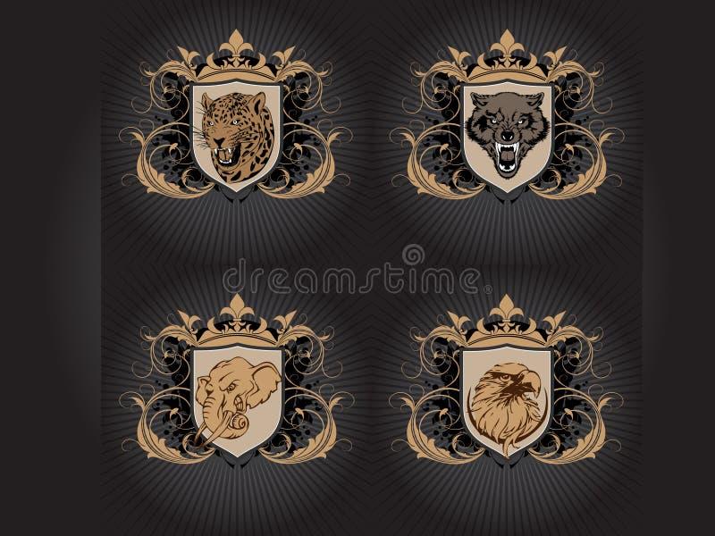 zwierzę strach royalty ilustracja