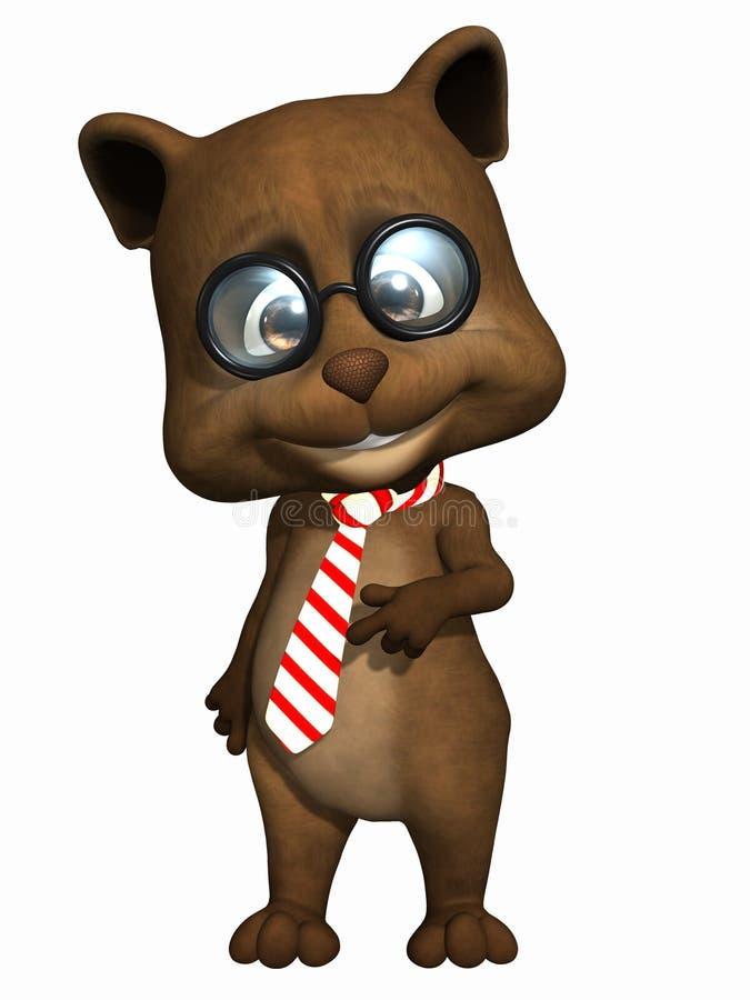 zwierzęcia domowego niedźwiadkowy śliczny miś pluszowy royalty ilustracja