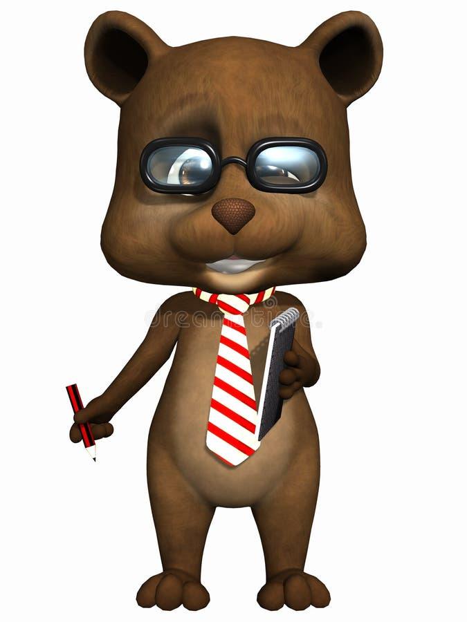 zwierzęcia domowego niedźwiadkowy śliczny miś pluszowy ilustracji