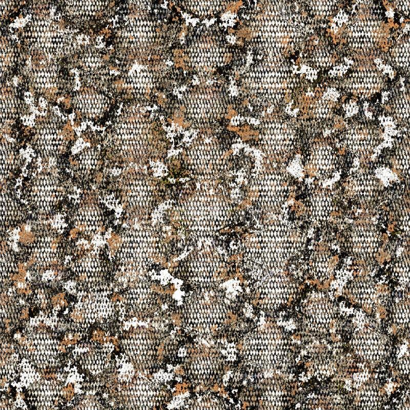 Zwierzęcy druk Wąż skóry bezszwowy wzór Gad niekończący się tekstura obraz stock