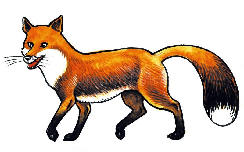 zwierzęcy lis ilustracji