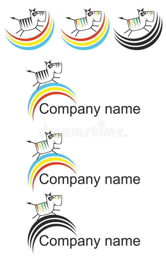 Zwierzęcy logo ilustracji