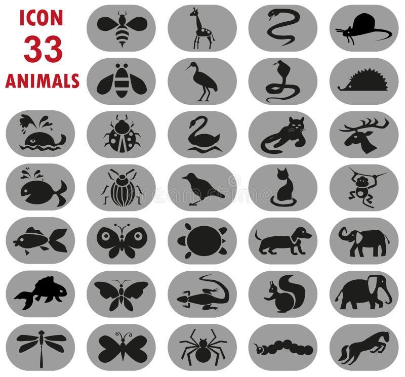 Zwierzęta royalty ilustracja