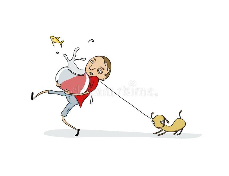 zwierzęta domowe ilustracja wektor