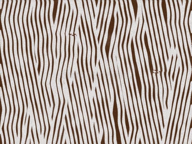zwierzęta tekstury zebra futerkowa dziecka royalty ilustracja