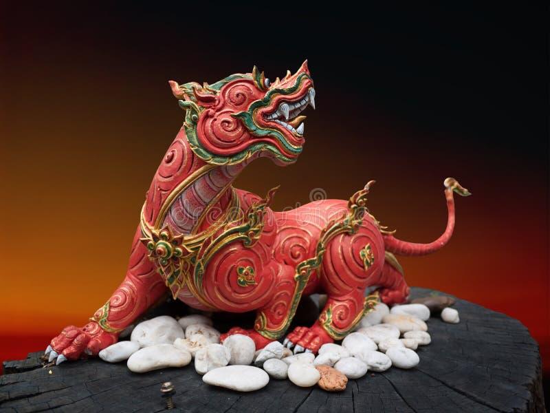 Zwierzęta w mitologii zdjęcie stock