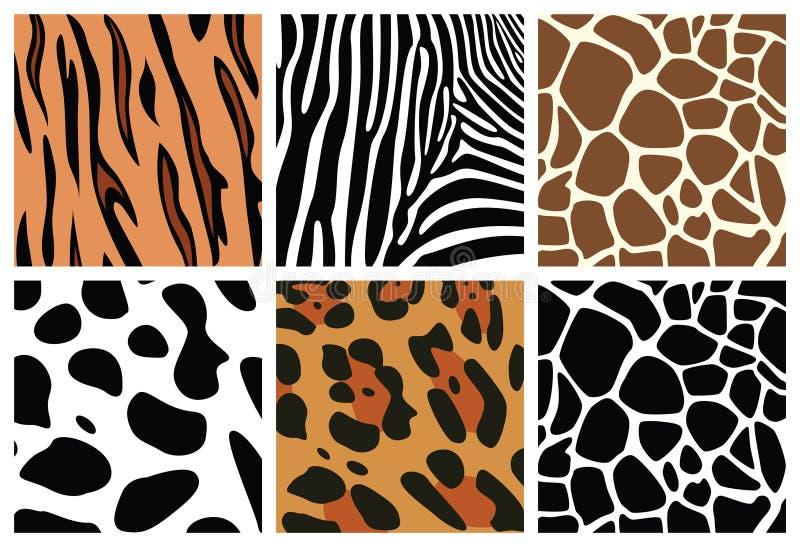Download Zwierzęcej skóry tekstury ilustracja wektor. Ilustracja złożonej z krowa - 13330165