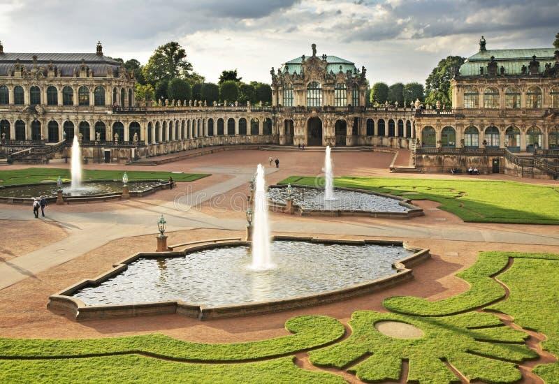 zwinger дворца dresden Германия стоковые изображения
