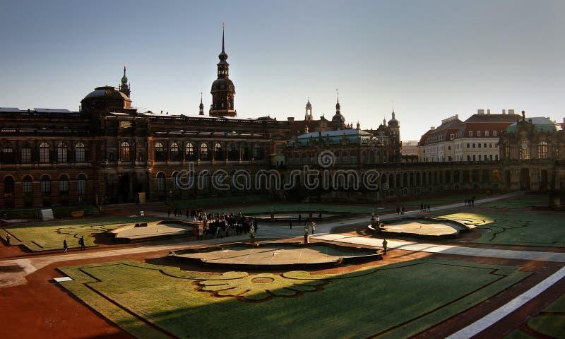 zwinger de palais de Dresde photos stock