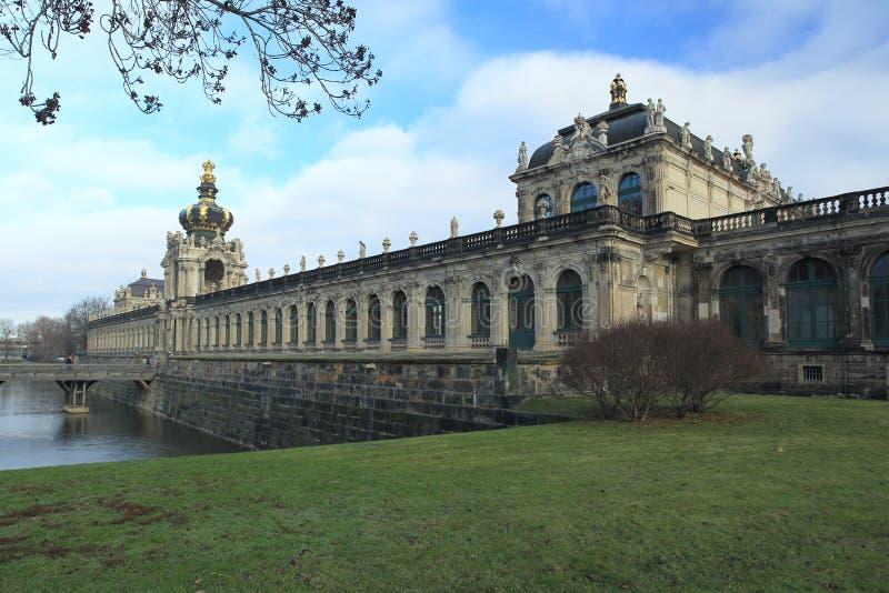 Zwinger a Dresda immagine stock libera da diritti