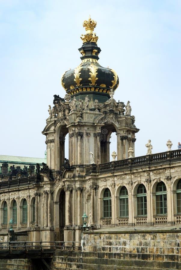 Zwinger (Dresden) stock afbeelding