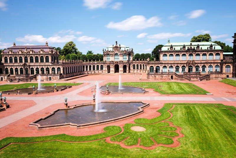 Zwinger Dresden royaltyfri foto