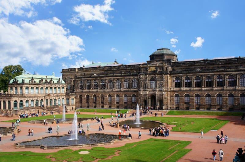 Zwinger - Dresden, Tyskland royaltyfri foto