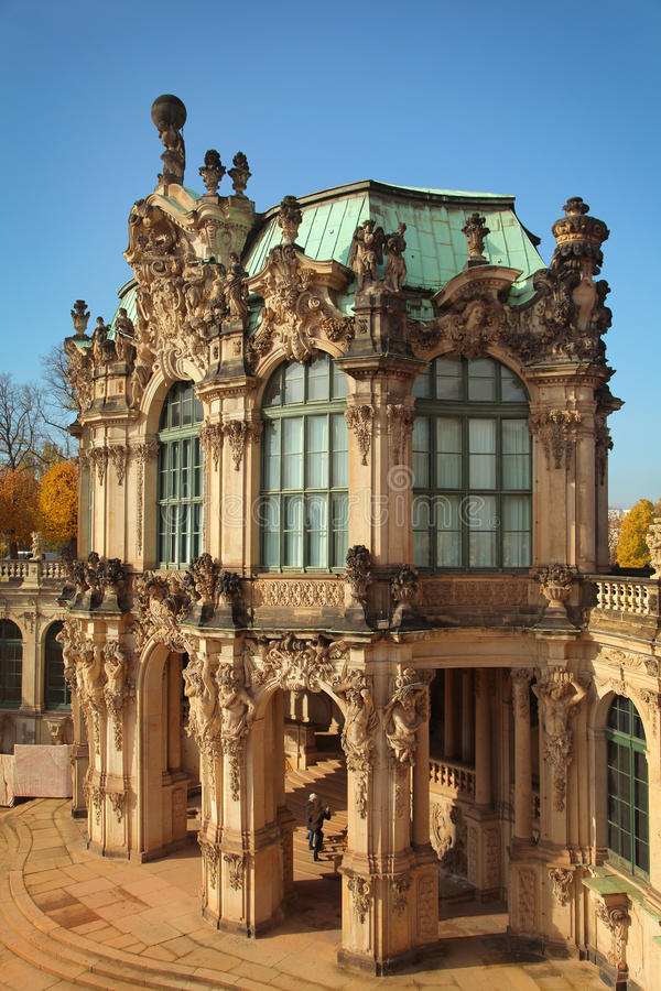 Download Zwinger Museum stock image. Image of blue, germany, dresden - 27993941
