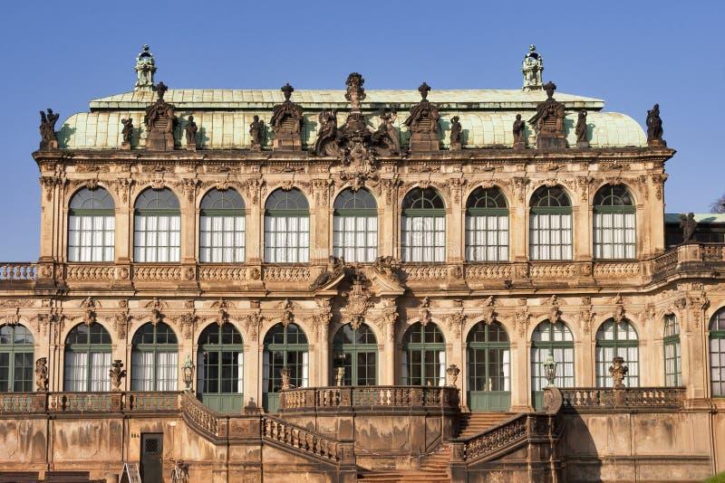 Zwinger Museum in Dresden, Germany stock photo