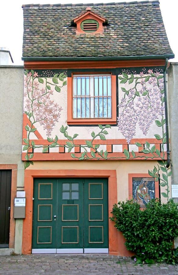 Zwitsers Huis 6 van Nice royalty-vrije stock afbeeldingen