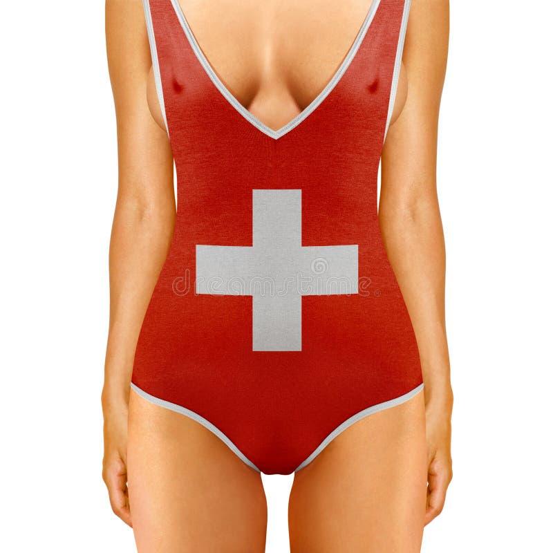 Zwitsers lichaam royalty-vrije stock foto's