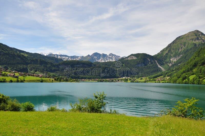 Zwitsers meer stock foto