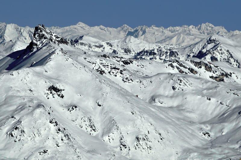 Zwitserse Alpen Pierre Avoie stock afbeelding