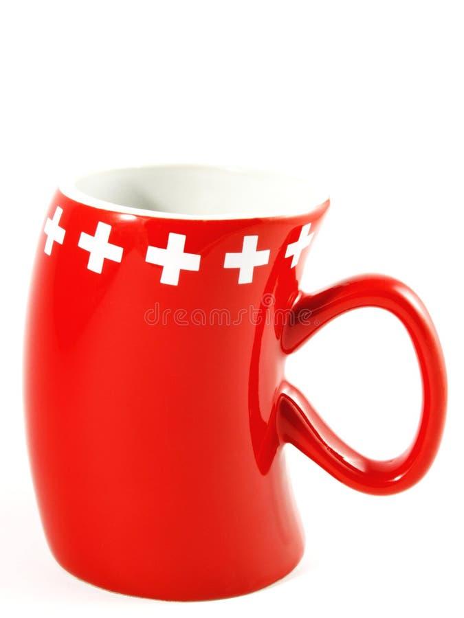 Zwitserse Mok stock afbeelding