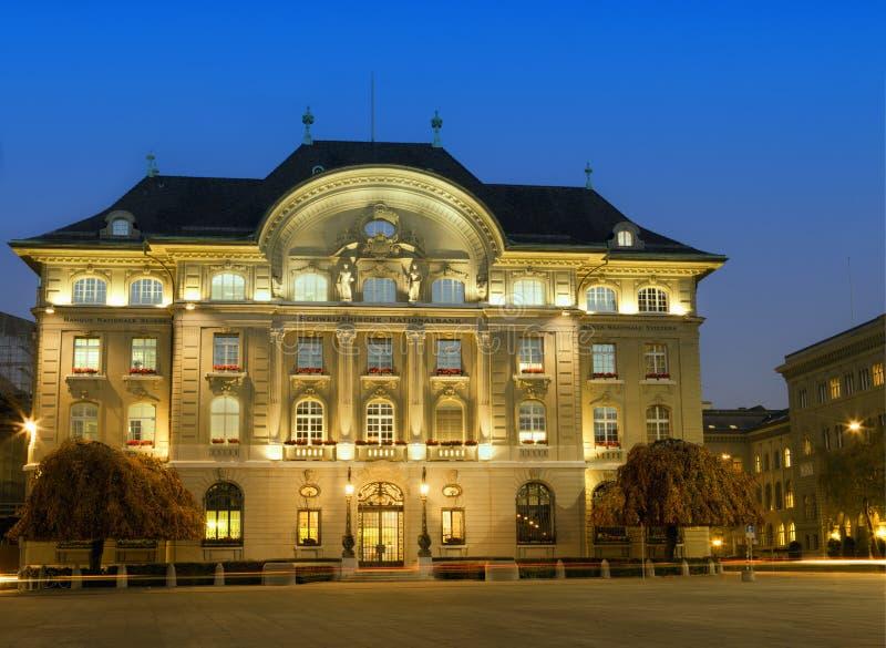 Zwitserse Nationale bank royalty-vrije stock afbeeldingen
