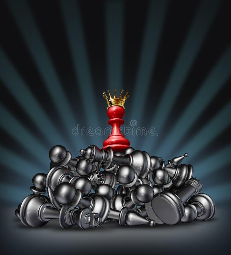 Zwycięstwo royalty ilustracja