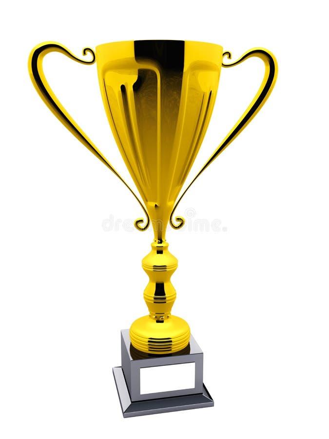 Zwycięzca nagroda royalty ilustracja