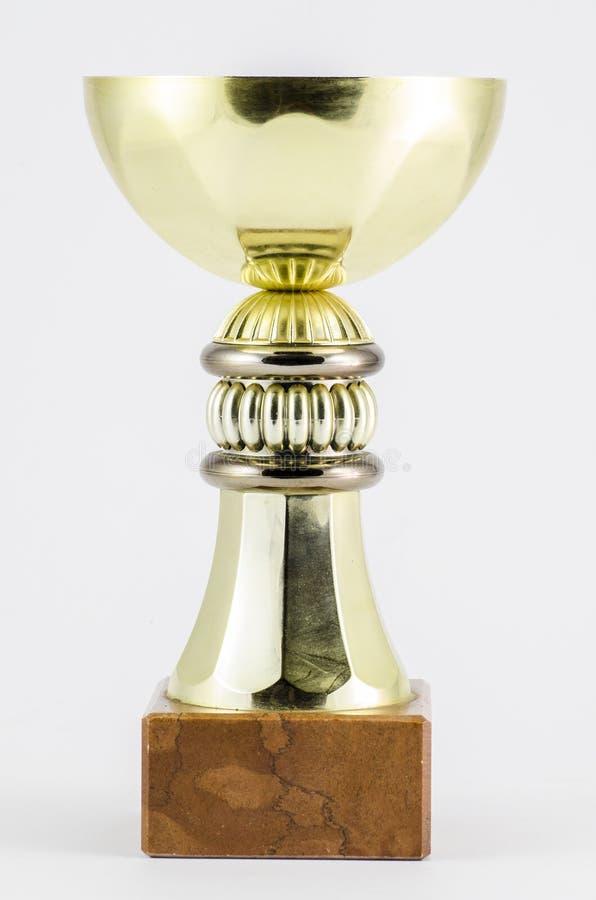 Zwycięzcy trofeum filiżanka obraz stock