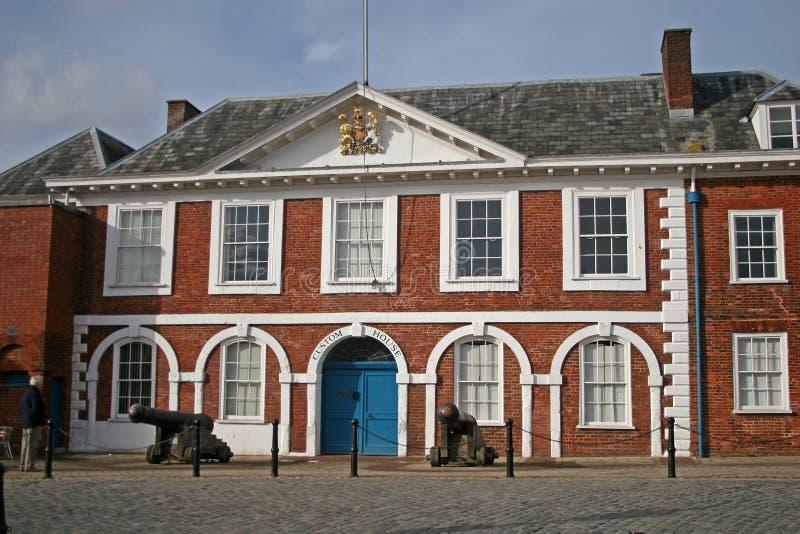 zwyczajów Exeter dom zdjęcia stock