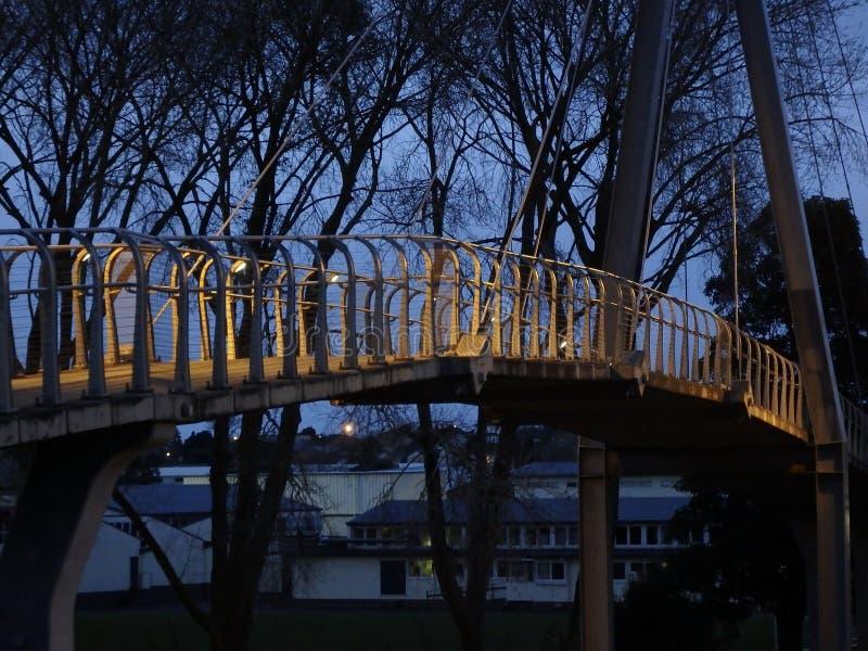 zwyczajnego mosta częściowy widok obrazy royalty free