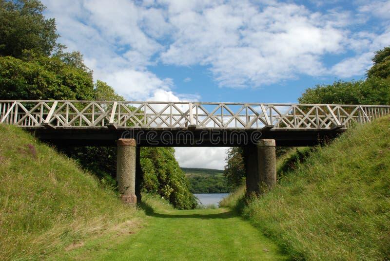 Zwyczajny most fotografia stock