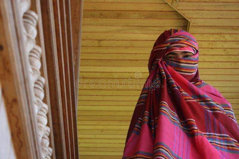 zwyczaju odzieżowy bima, zachodni Nusa południowy wschód zdjęcie royalty free
