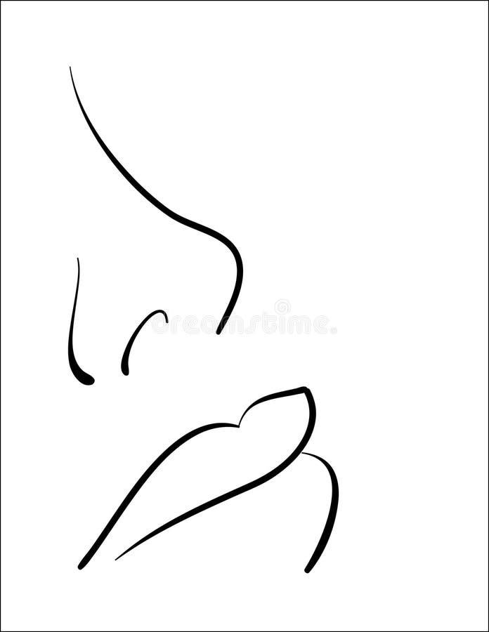 zwykła prosta piękno ilustracji