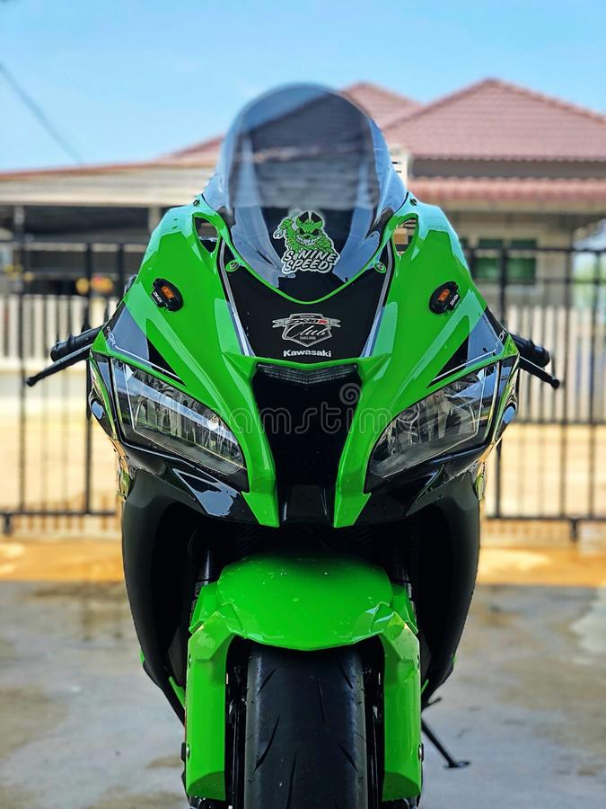 Zx10r photographie stock