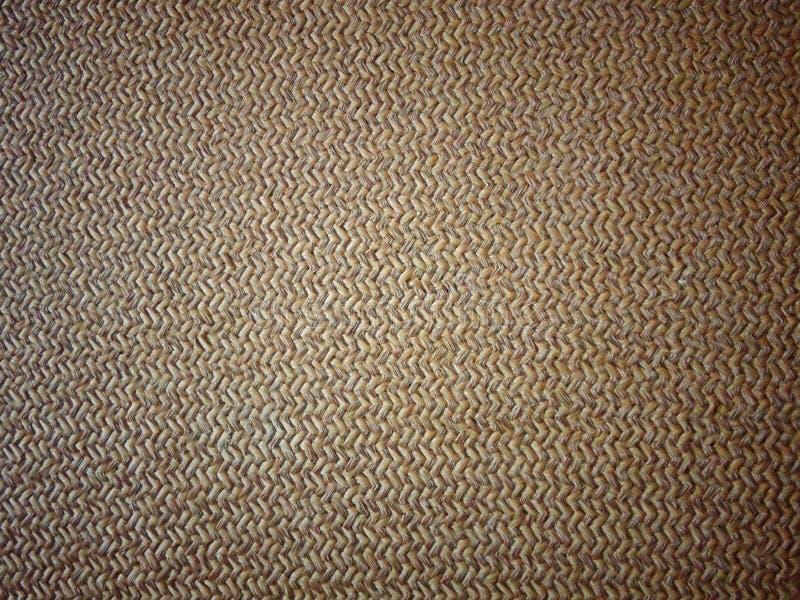 Zygzag wyplatający beżowy sukienny dywanik obraz stock