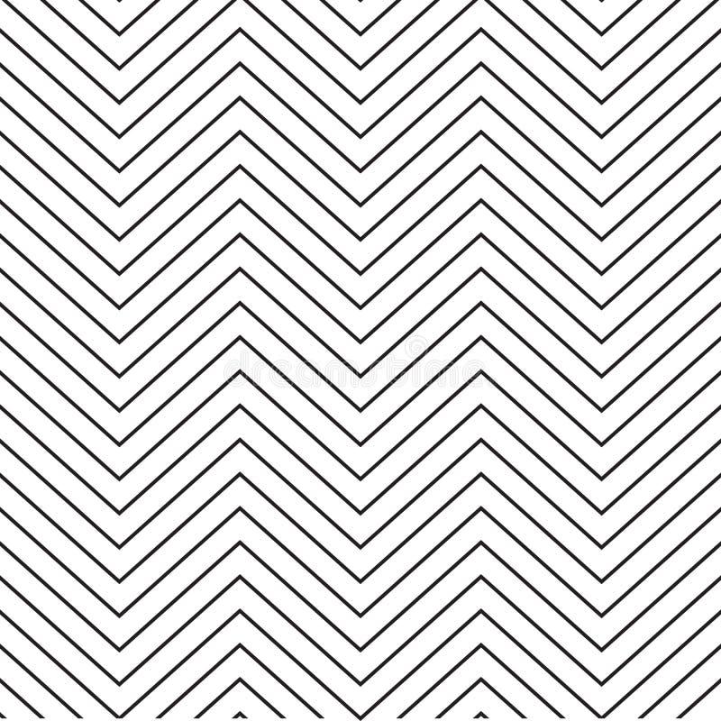 Zygzakowaty wzór abstrakcyjny tło ilustracji
