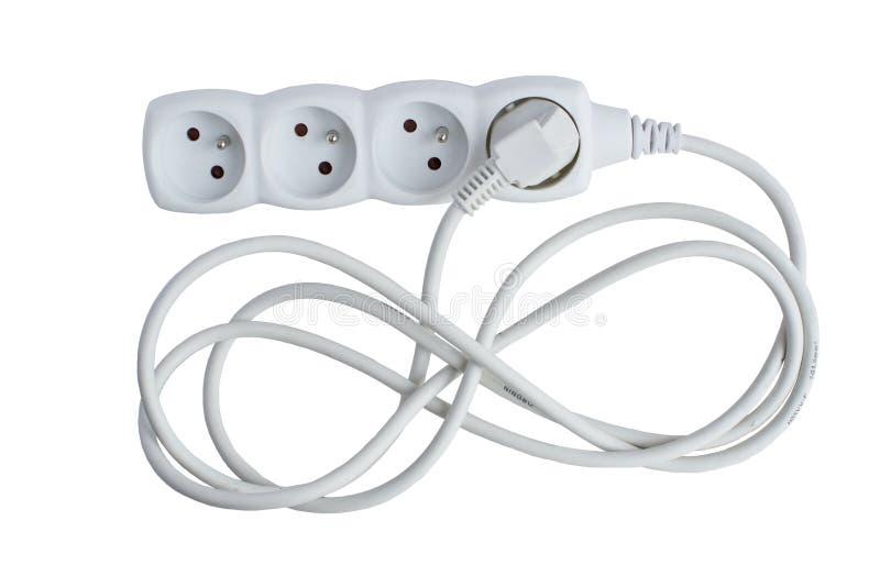 Zyklisches elektrisches Fach. Sparen Sie die Energie und Geld sparen. Legen Sie sola fest lizenzfreies stockfoto