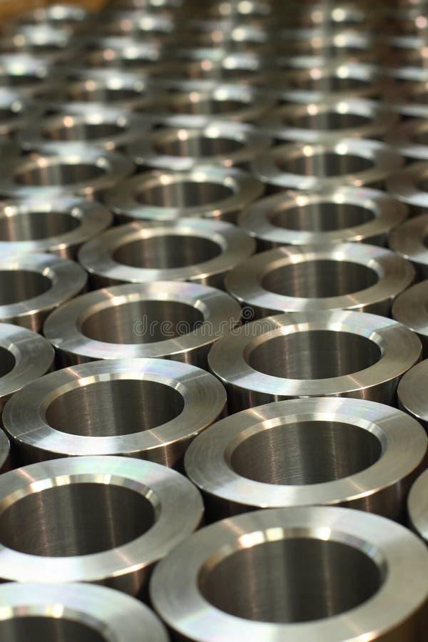 Zylinderförmige Werkstücke stockbilder