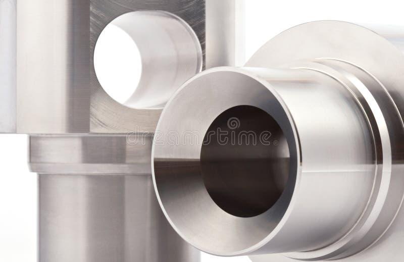 Zylinderförmige Werkstücke stockfotografie