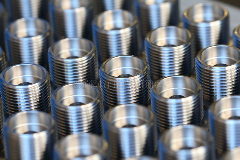 Zylinderförmiges Werkstück Lizenzfreie Stockfotografie