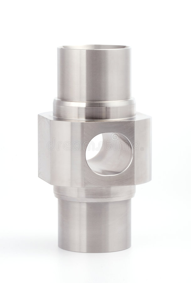 Zylinderförmiges Werkstück lizenzfreies stockfoto