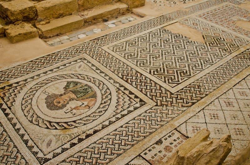 Zypern-Mosaik stockfotos