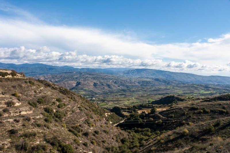 Zypern-Mountain View lizenzfreie stockbilder