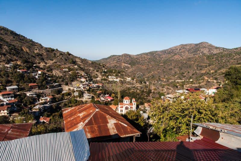 Zypern-Mountain View stockbilder